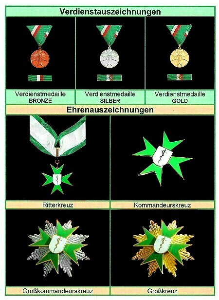 Auszeichnungen der Lazarus Hilfe Österreich